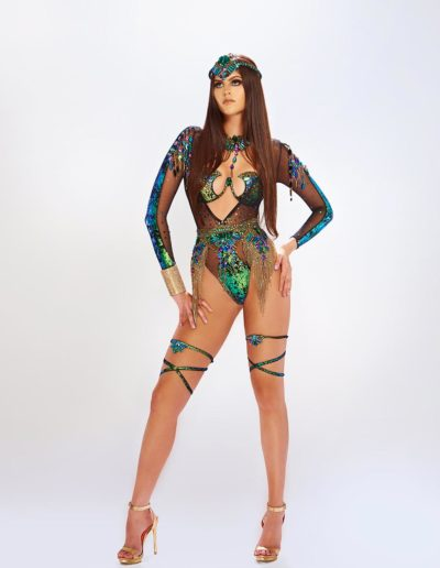 Monsoon - Long Sleeve Monokini