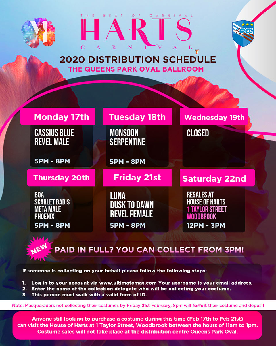 Our Distribution Schedule